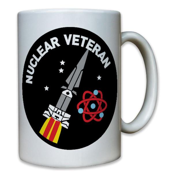 Nuclear Veteran Nuklear Hercules Rakete Atomwaffe - Tasse #8471