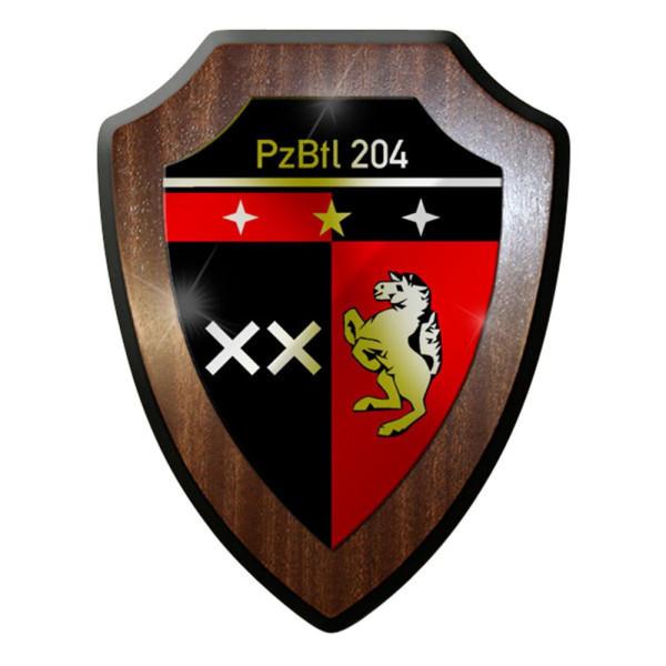 Wappenschild - PzBtl 204 Panzerbataillon Panzer Bataillon 202 Hemer #12313