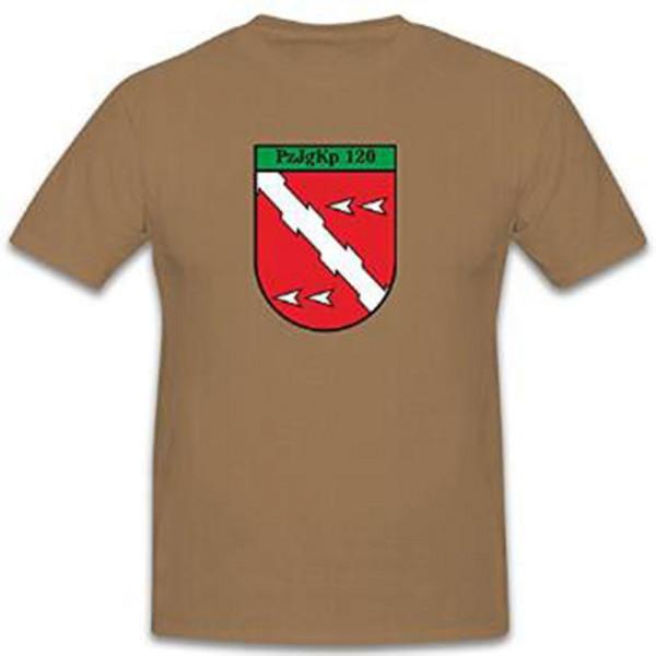 PzJgKp 120 Panzerj?gerkompanie Bundeswehr Wappen Deutschland - T Shirt #11321
