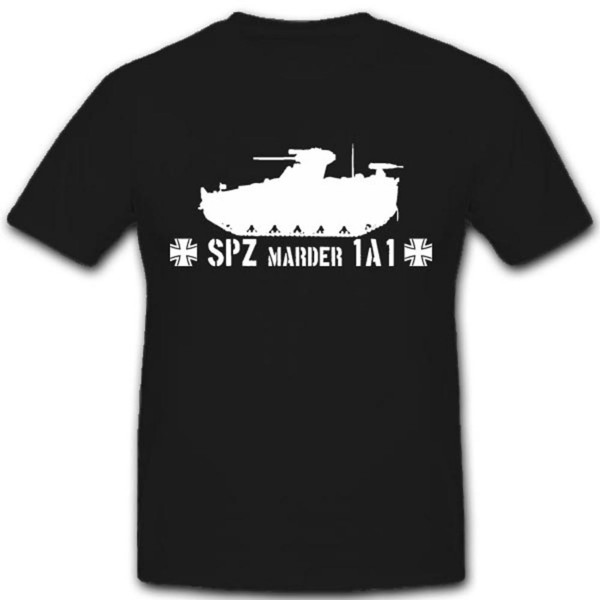 1A1 Spz Marder Schützenpanzer Marder Bundeswehr Grenadier T Shirt #3550