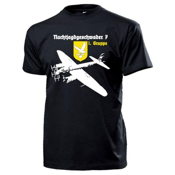NJG 7 I.Gruppe Nachtjagdgeschwader Ju88G Luftwaffe Münster - T Shirt #13217