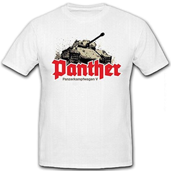 Panzerkampfwagen V Panther Deutschland Wk SdKfz 171 Spiel - T Shirt #12798