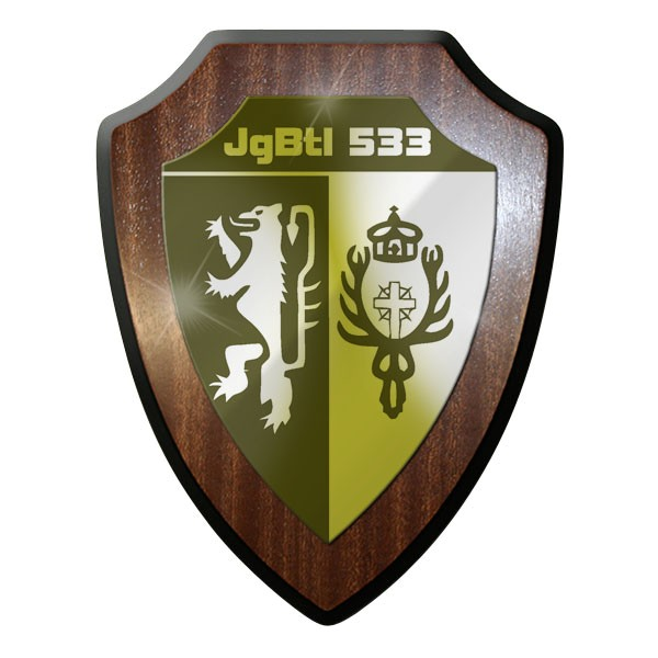 Wappenschild Jägerbataillon 533 Infantrie Jäger Btl Düren Wappen Andenken #8925