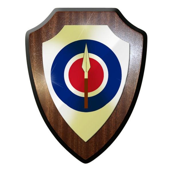 Wappenschild - Royal Rhodesian Air Force Luftwaffe Armee Neuseeland #11918