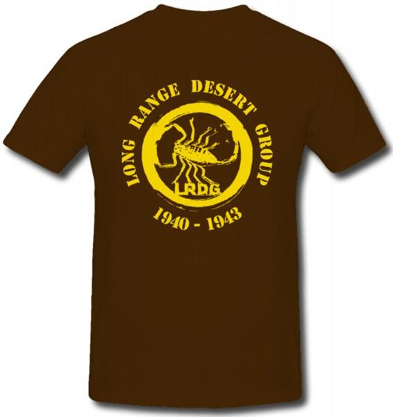 Spezialeinheit British Army Long Range Desert Group Lrdg Skorpion - T Shirt #85