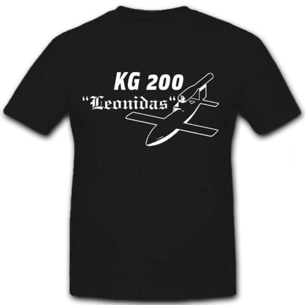 KG200 Leonidas Luftwaffe Kampfgeschwader 200 Totaleinsätze - T Shirt #12950