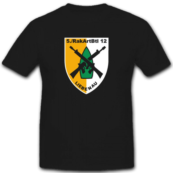 5 Rakartbtl 12 Raketenartilleriebataillon 12 Bundeswehr Heer T Shirt #2591