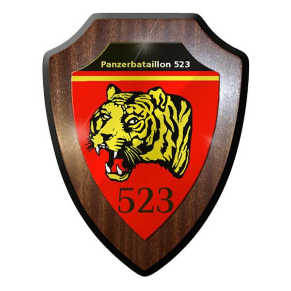 Wappenschild / Wandschild / Wappen - Panzerbataillon 523 PzBtl Panzer #8345