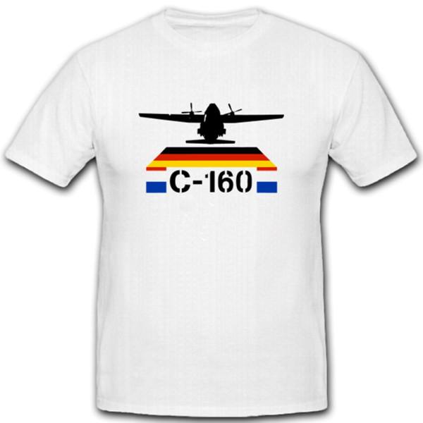 Transall C-160 Militär Flugzeug Frankreich Deutschland Transporter T Shirt #3780