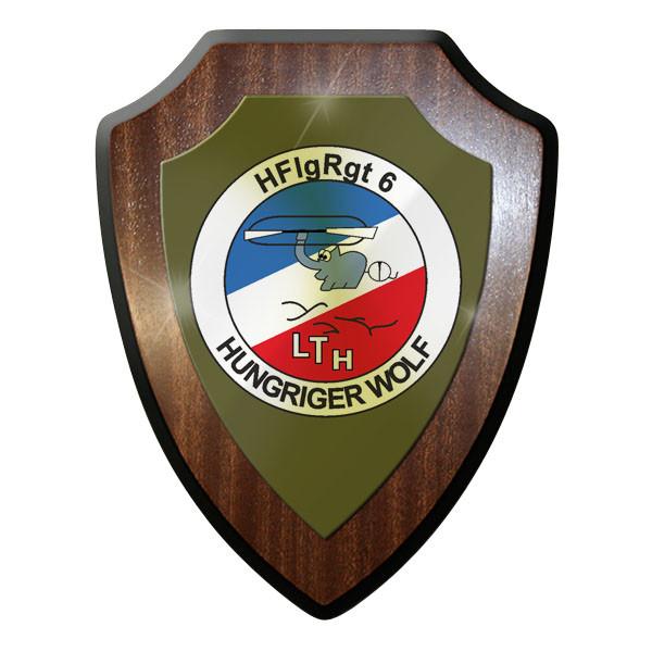 Wappenschild HFlgRgt 6 Heeresfliegerregiment 6 Heeresflugplatz Hungriger #11705