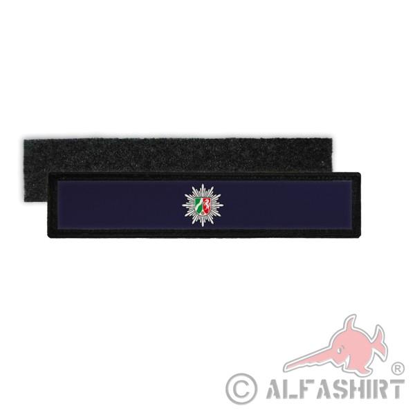 Patch Namens-Schild Polizei NRW Klett Streifen personalisiert mit Namen für die Uniform #35918