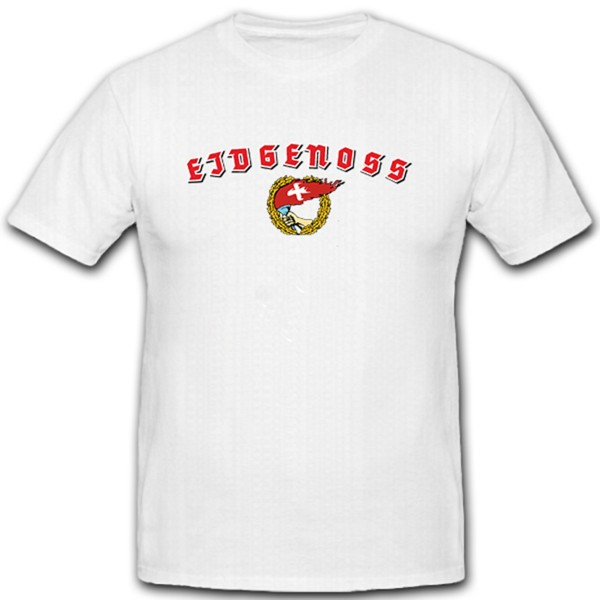 Confederation Swiss Comrades Switzerland Homeland Torch Flag Flag - T Shirt # 11328