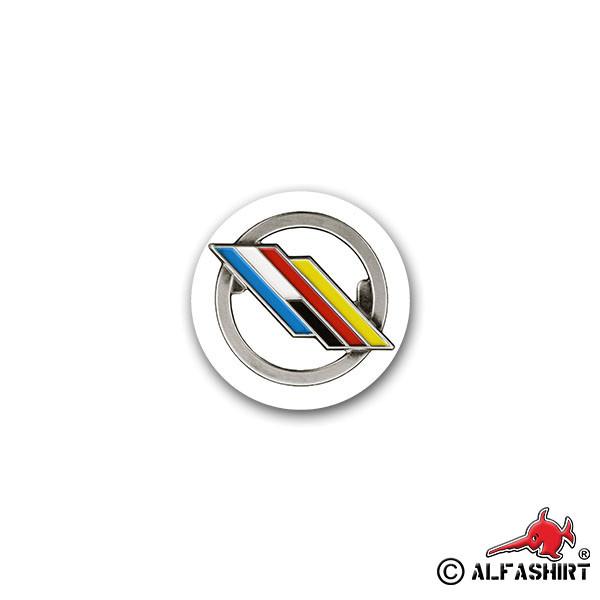 Aufkleber/Sticker DF Brigade Deutsch Französische Eurokorps Frankreich #A2315