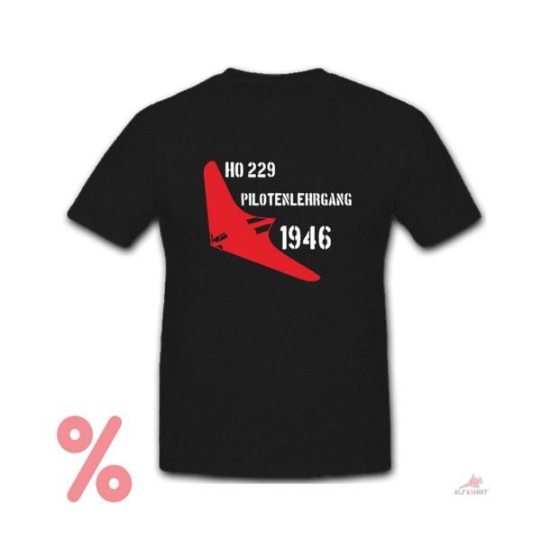 SALE Shirt HO 229 pilot course 1946 Luftwaffe Neuschwabenland T Shirt # R1