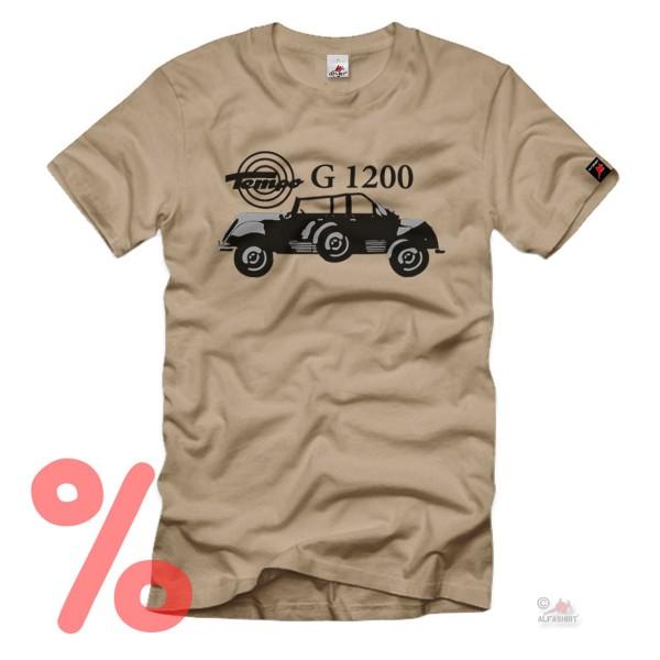 Gr. XL - SALE Shirt Tempo G 1200 Geländewagen Wehrmacht Allrad #R1074