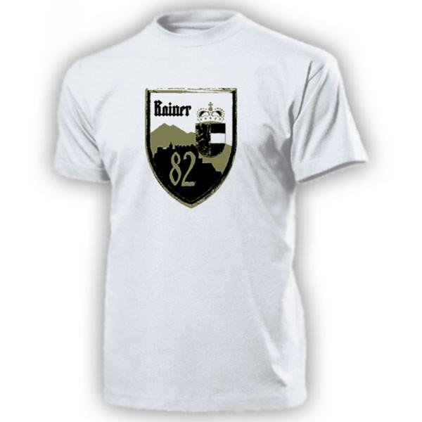 LWSR 82 Landwehrstammregiment Rainerkaserne Salzburg Abzeichen - T Shirt #13312