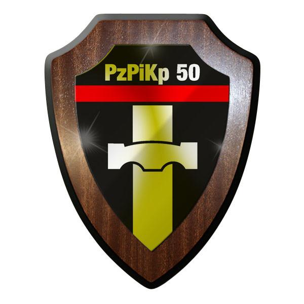 Wappenschild- PzPiKp 50 Panzerpionierkompanie 50 Panzer Pioniere Kompanie #8859
