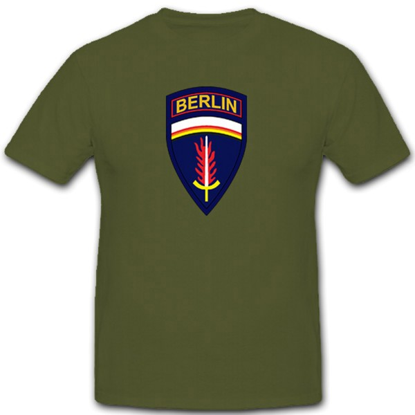 US Berlin Brigade United States USA Coat of Arms Badge - T Shirt # 11142
