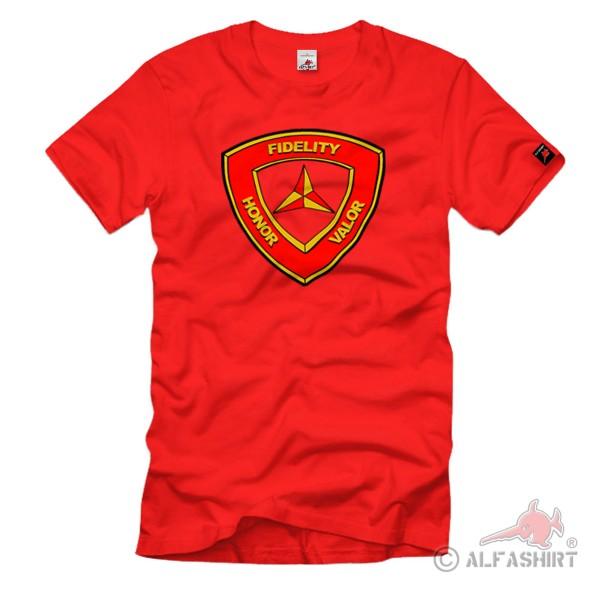 3rd Marine Division United States Marine Corps USMC USA - T Shirt # 1166