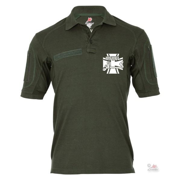 Tactical polo shirt Alfa - Infidel Warrior Isaf BW Infidel # 19168