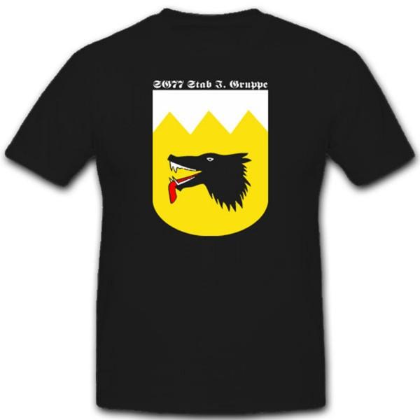 Sturzkampfgeschwader 77 Luftwaffe WK Stab I SG77 Militär Wappen T Shirt #2283