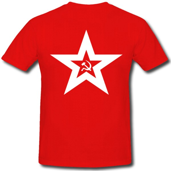 Naval Jack Of Soviet Union - T Shirt #105