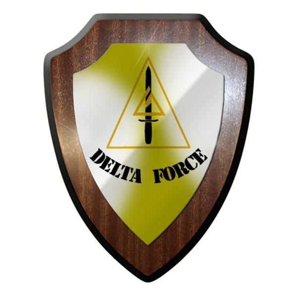 Wappenschild / Wandschild - Delta Force 1st Special Forces Operational #6908