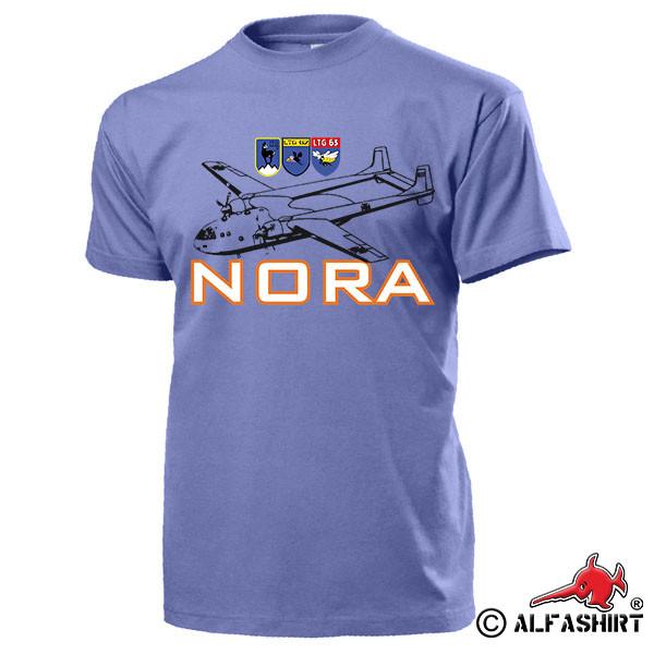 NORA Lufttransportgeschwader LTG61 LTG62 LTG63 Noratlas Flugzeug T Shirt #15561