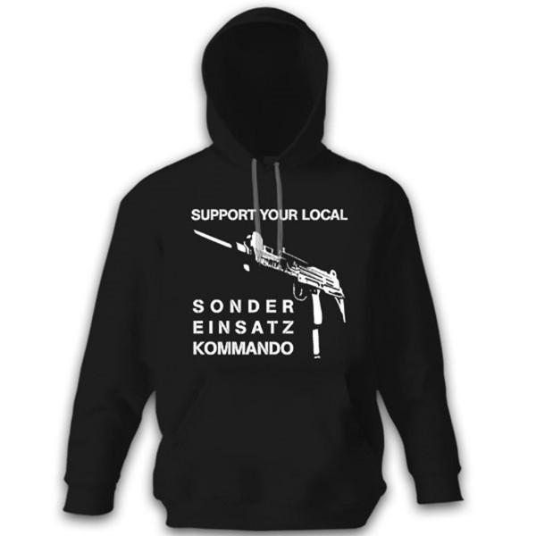 Support Your Local SEK Special Operations Command Police - Hoodie # 12143