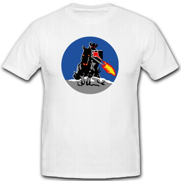 Reiter mit Feuerlanze - T Shirt #9119