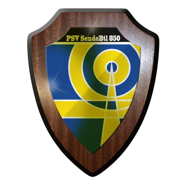 Wappenschild PSV Sende Btl 850 Psychologische Verteidigung Sende Bataillon #9313