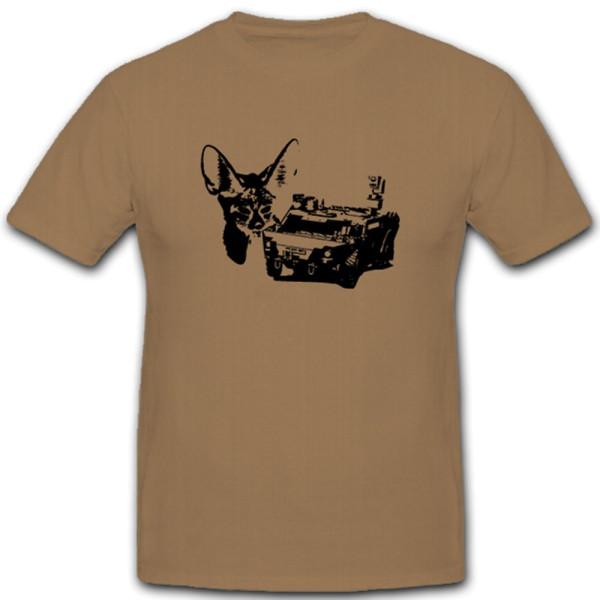 SpWg Spähwagen Panzerspähwagen Bundeswehr Bw Armee- T Shirt #5435