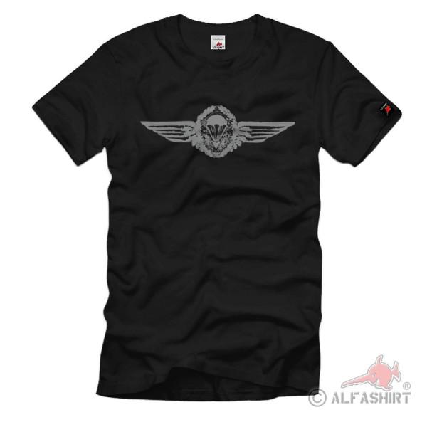 Deutsches Fallschirmspringerabzeichen Stufe 2 Bundeswehr T Shirt #1378