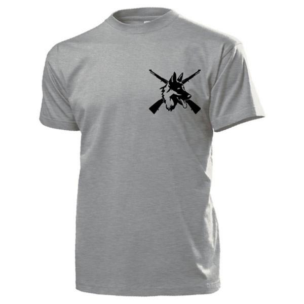 Heimatschutz DSH Deutscher Schäferhund Karabiner 98K - T Shirt #13987