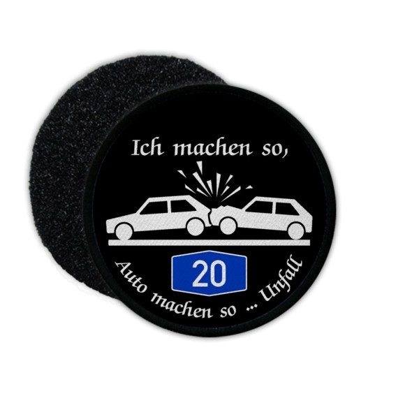 Patch Auto Make so Accident Autobahn 20 A20 Foreigners I make Rostock # 35860