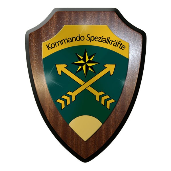 Wappenschild / Wandschild / Wappen - KSK Schweiz Kommando Spezialkräfte #11901