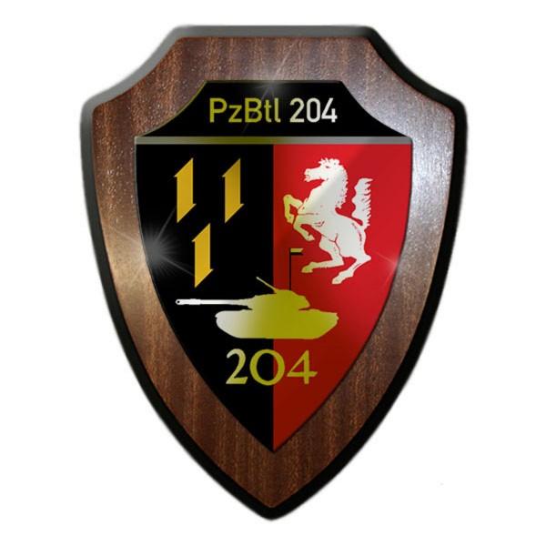 Wappenschild - PzBtl 204 Panzerbataillon 204 Typ 3 Einheit Militär #13621