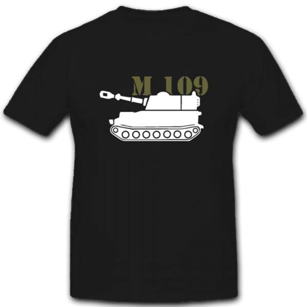 Amored Tank M109 Panzer Artillerie Howitzer A6 Bundeswehr Weapon - T Shirt #3258