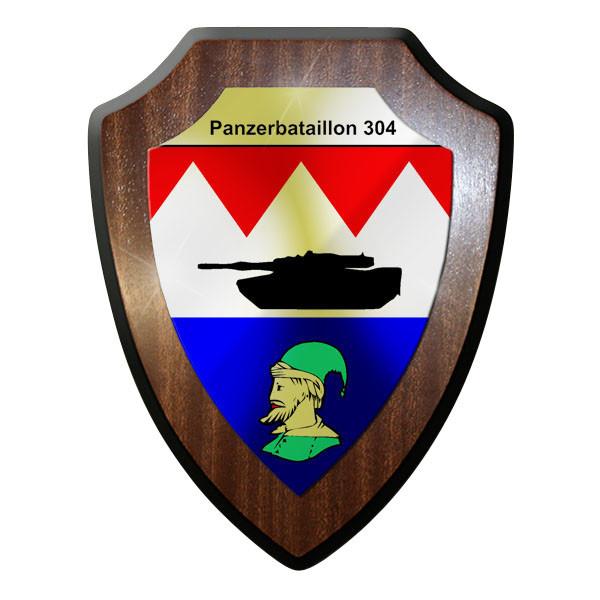 Wappenschild - Panzerbataillon 304 PzBtl Wappen Emblem Souvenir Andenken #9046