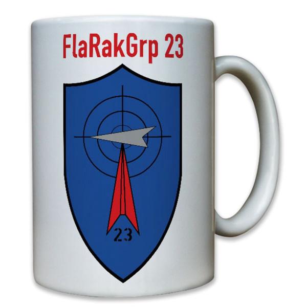FlaRakGrp 23 Flugabwehrraketengruppe Rakete Bundeswehr Bw Wappen - Tasse #8210