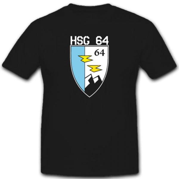 HSG64 Hubschraubergeschwader 64 Militär Leipzig Bundeswehr Einheit T Shirt #2386