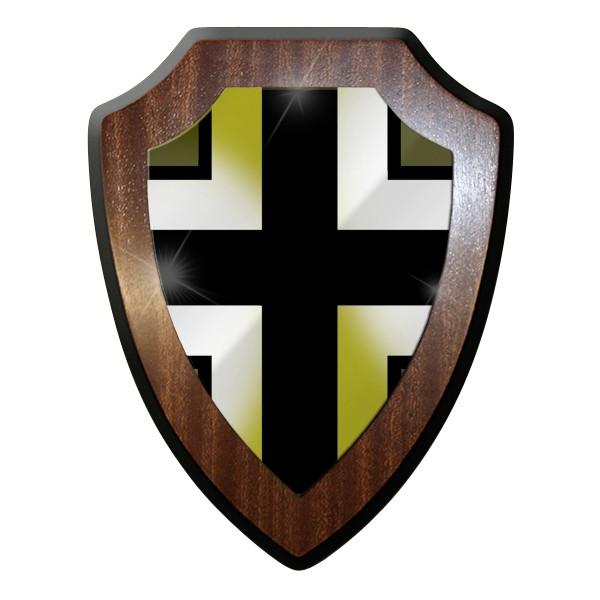 Wappenschild - Schlesien - Balkenkreuz Militär WK 2 #9294