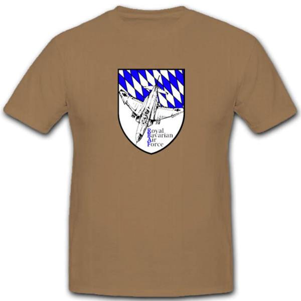 Royal Bavarian Bayern Air Force Germany RBAF Fun - T Shirt #3147