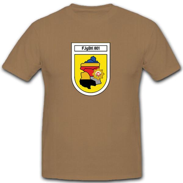 FJgBtl 801 Feldjäger Bataillon 801 Deutschland Bundeswehr Militär T Shirt #12099