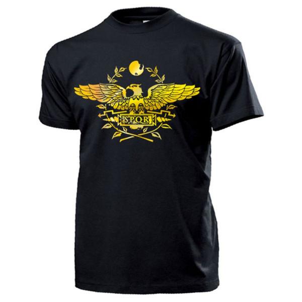 SPQR ROM Senatus Populusque Romanus Der Senat Volke - T Shirt #13992