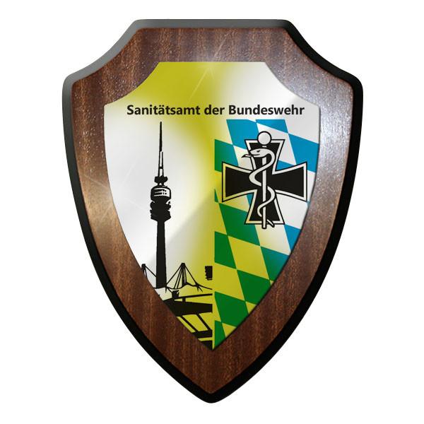 Wappenschild / Wandschild / Wappen - Sanitätsamt der Sanitäter Emblem #8824