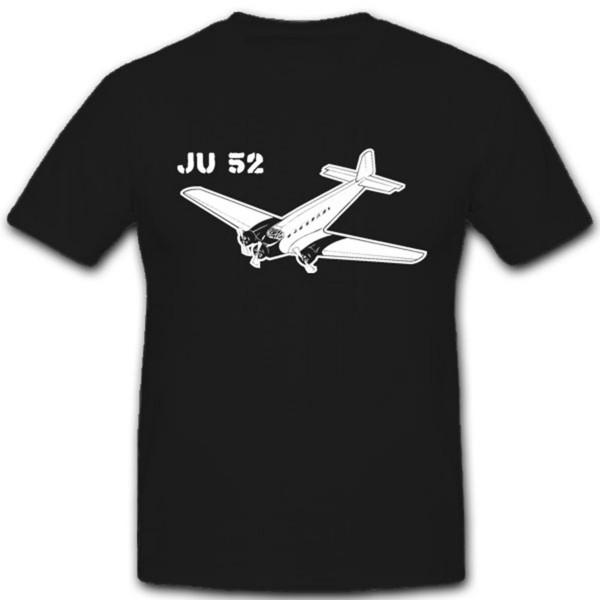 Tante Ju52 Luftwaffe Flugzeug Militär Deutschland WH- T Shirt #2065