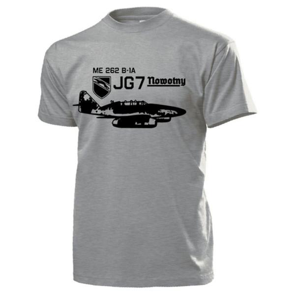 Me262 B 1-A JG7 Nowotny Luftwaffe Schwalbe Ausbildungs - T Shirt #13234