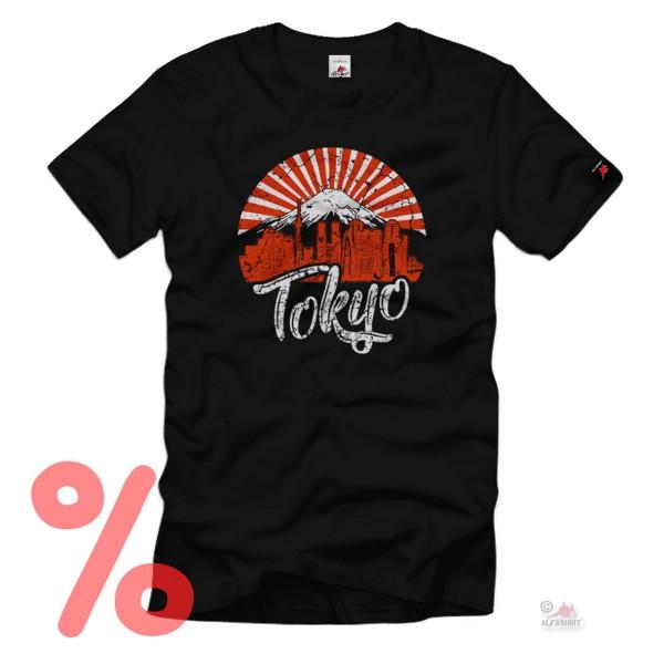 Size S - SALE Shirt Tokyo Grunge Fuji Vulkan Japan Art Fashion Love # R524
