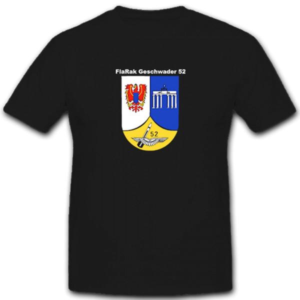 FlaRak Geschwader 52 Flugabwehrraketengeschwader Luftwaffe - T Shirt #5451